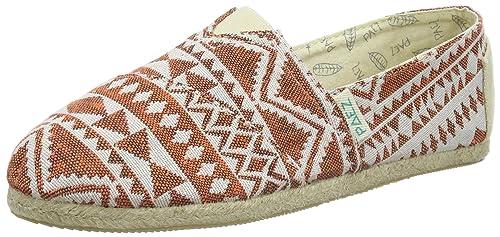 Paez Original Raw Ethnic, Alpargatas Unisex Adulto, Naranja (Orange 0053), 41 EU: Amazon.es: Zapatos y complementos