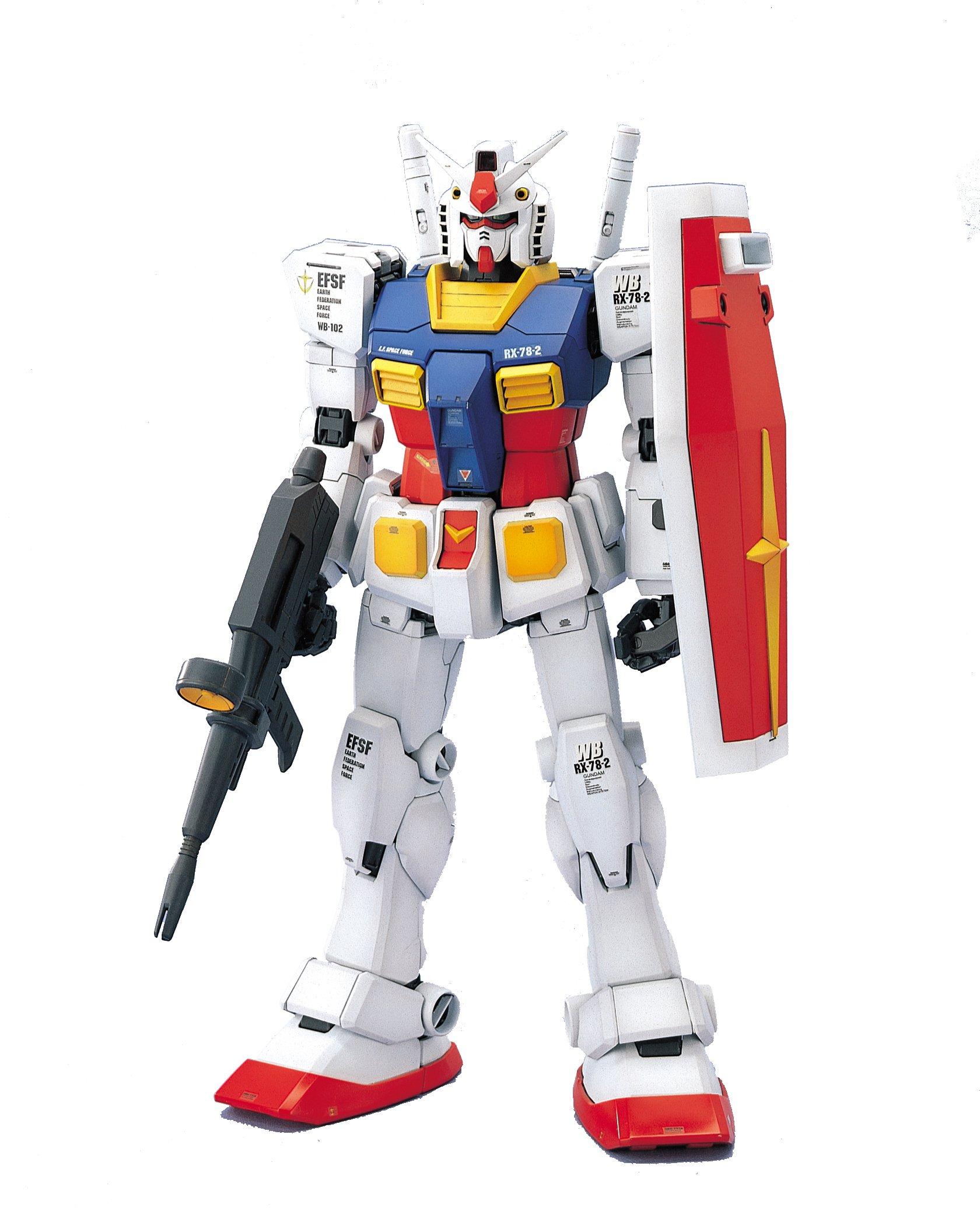 Bandai Hobby RX-78-2 Gundam Mobile Suit Gundam Perfect Grade Action Figure, Scale 1:60