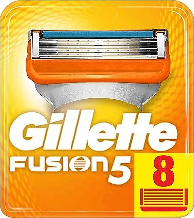 Maquinillas de afeitar Gillette con 5 hojas antifricción; un afeitado imperceptible,Recortadora de p