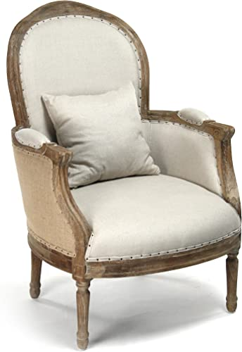 Zentique Natural Chair with Jute