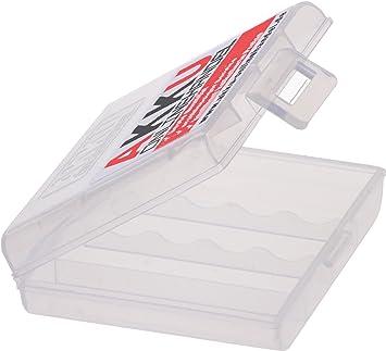 8 x Premium Kraftmax AKKU-BOX para pilas recargables Mignon AA o Micro AAA Pilas/Caja para proteger las Baterías y las pilas: Amazon.es: Electrónica