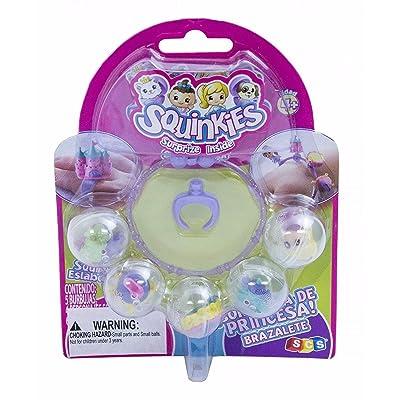 Squinkies Princess Surprise Bracelet Set: Toys & Games