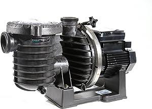 Sta-Rite 345076 Max-E-Pro High-Efficiency TEFC Super-Duty Pool/Spa Pump, 1 Horsepower, 208-230/460 Volt, 3 Phase