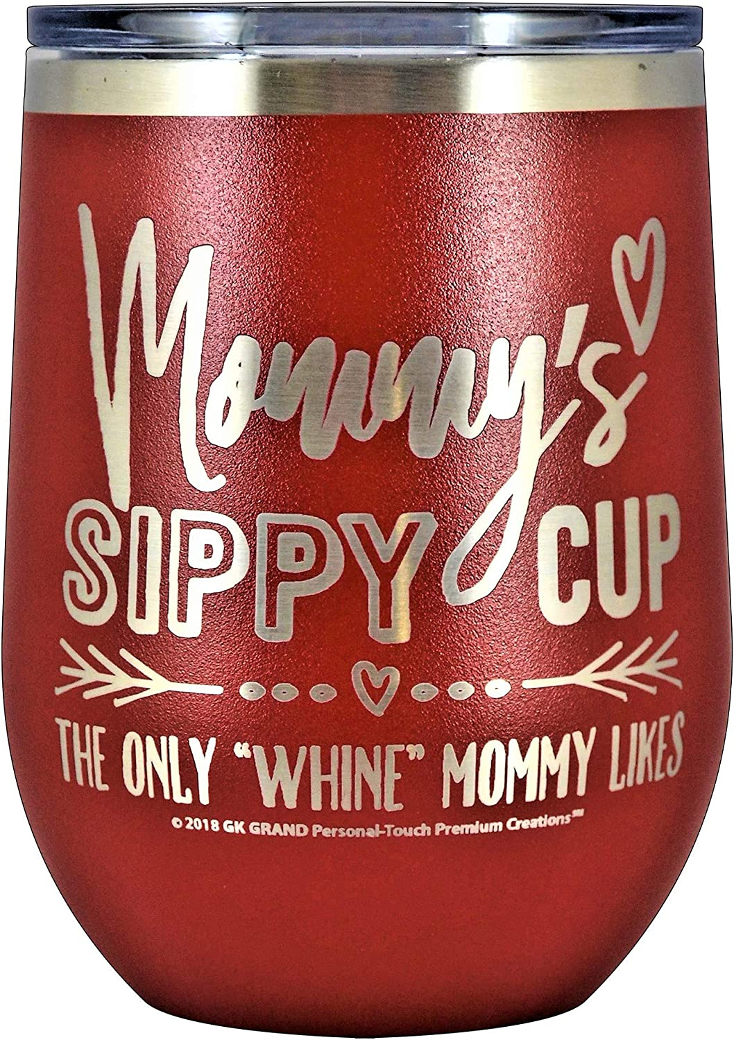 Stemless Wine Tumbler Coffee Travel Mug Cup Glass Nana/'s Sippy Cup Funny