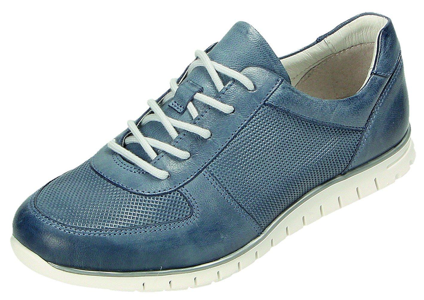 Minu Zapatos de Cordones Para Mujer Azul Azul 42 EU|Azul