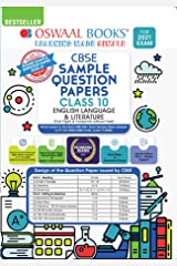Oswaal CBSE Sample Question Paper Class 10 English Language & Literature Book (Reduced Syllabus for 2021 Exam) Kindle Edition