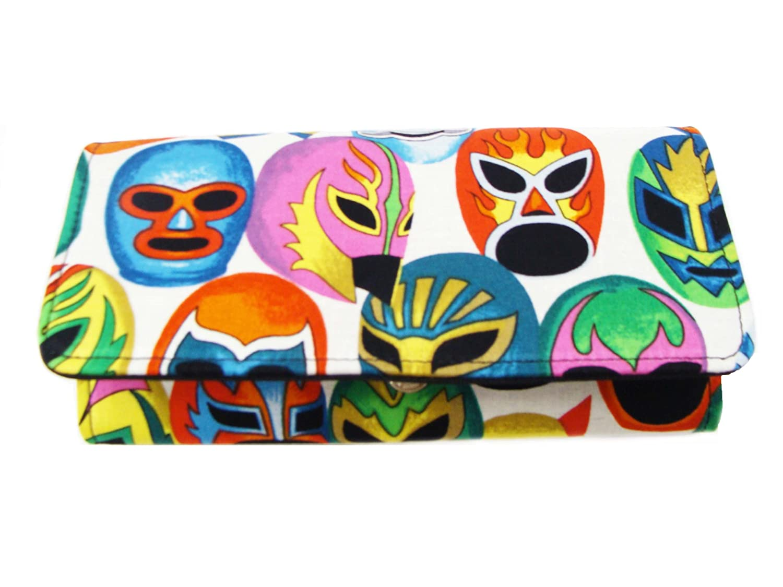 Amazon.com: US Handmade Fashion Wallet , MASCARAS DE PELEA ...