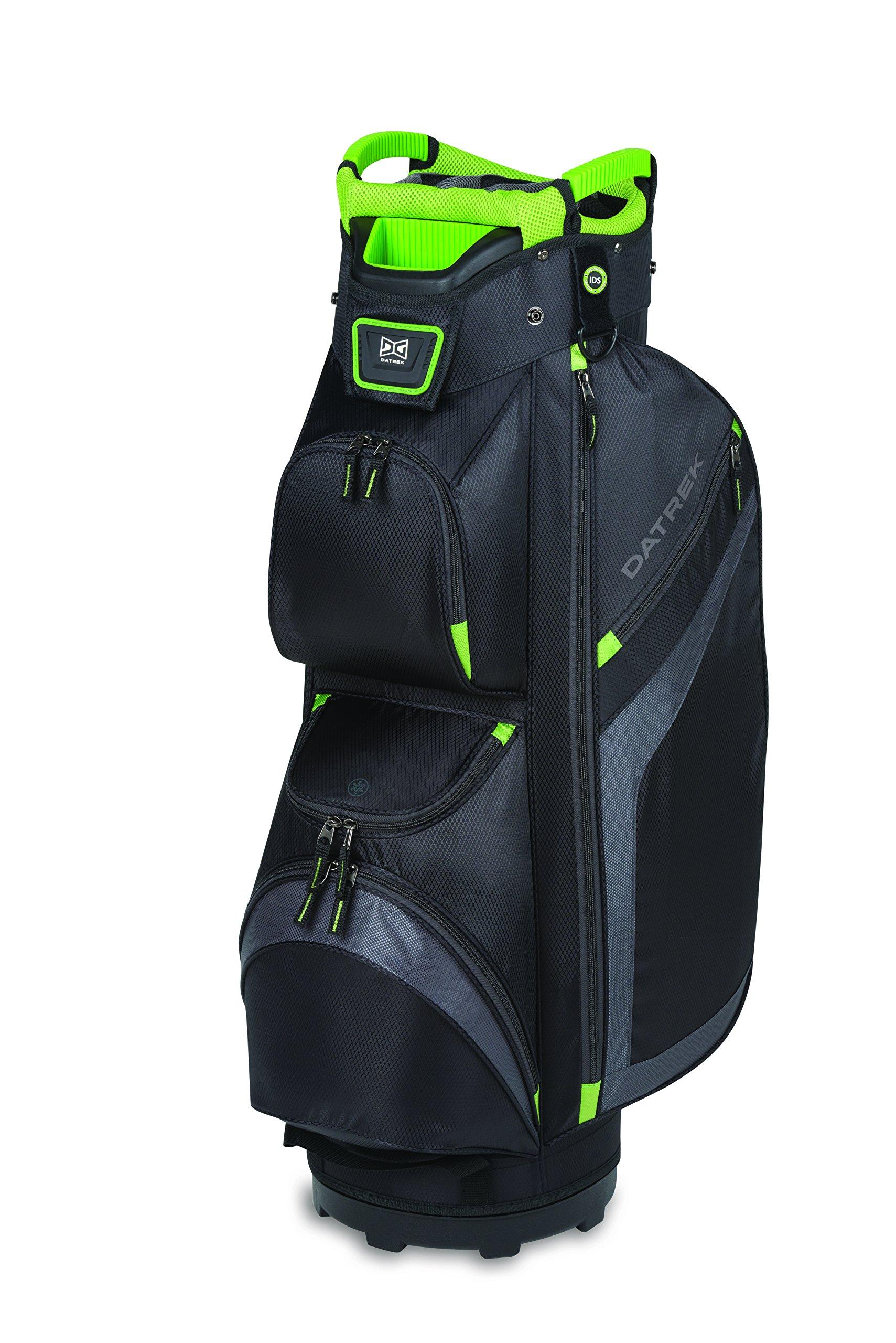 Datrek DG Lite II Cart Bag Black/Charcoal/Lime DG Lite II Cart Bag by Datrek