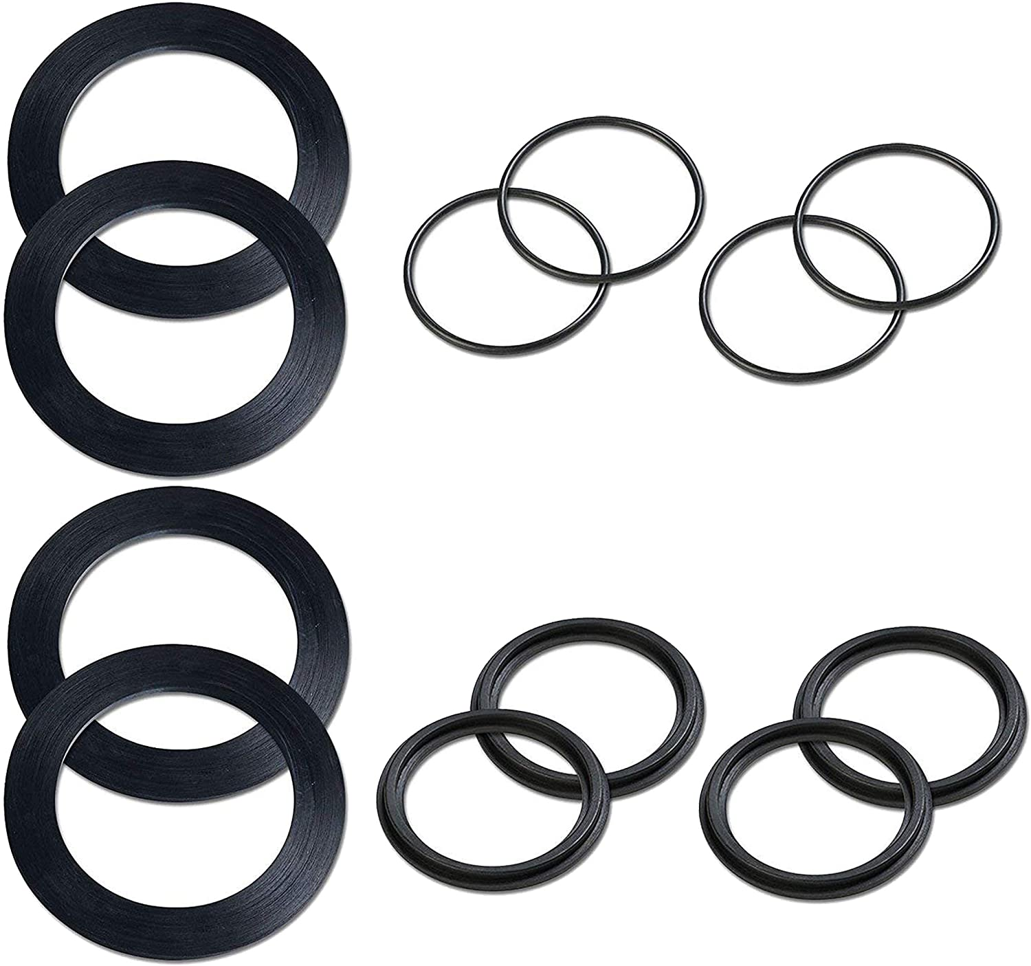 Intex Replacement Rubber Washer & Ring Pack for Large Pool Strainers 2 Pack