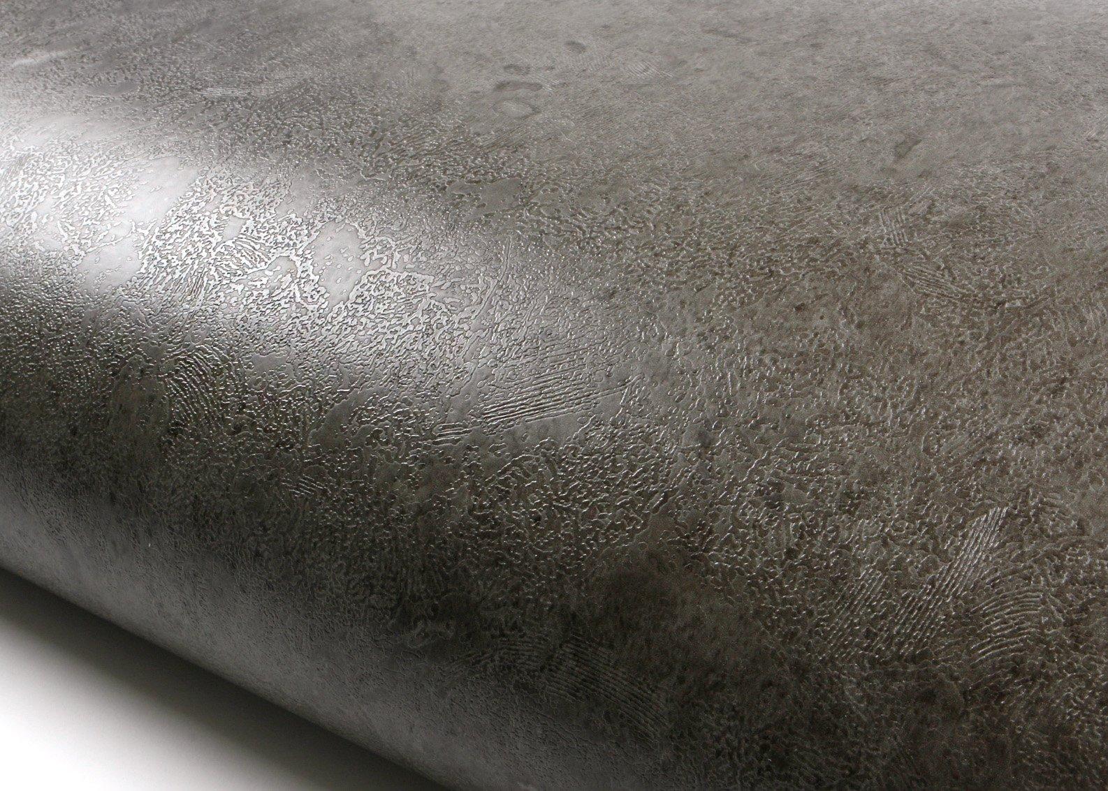 ROSEROSA Peel & Stick Rust Brick Pattern Backsplash Slate Stone Concrete Contact Paper Self-Adhesive Wallpaper Shelf Liner Table and Door Reform (SMF749 : 2.00 Feet X 6.56 Feet)