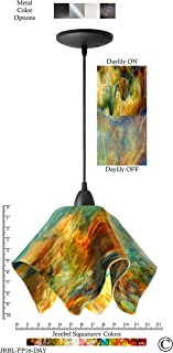 product image for Jezebel Signature JRBL-FP16-DAY Black Flame Pendant, Large, Daylily