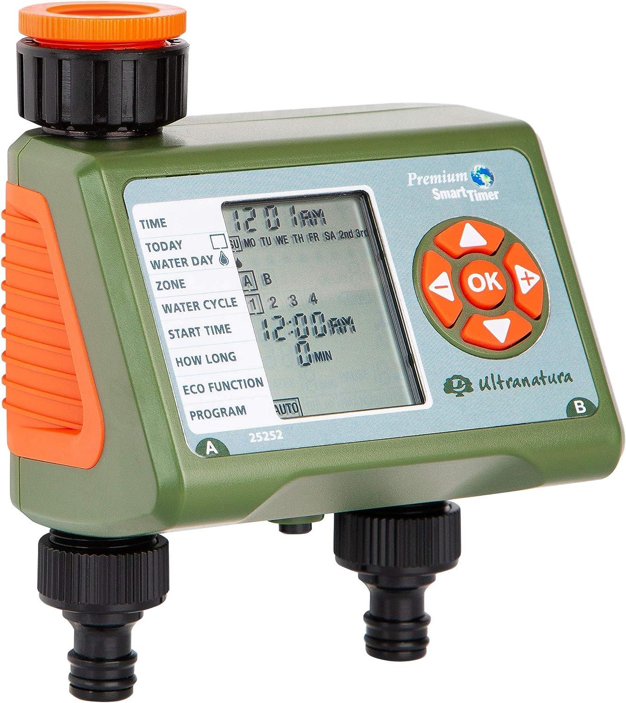 Bewässerungscomputer Timer elektronisch hochwertig mit 2 Auslässen Top Seller
