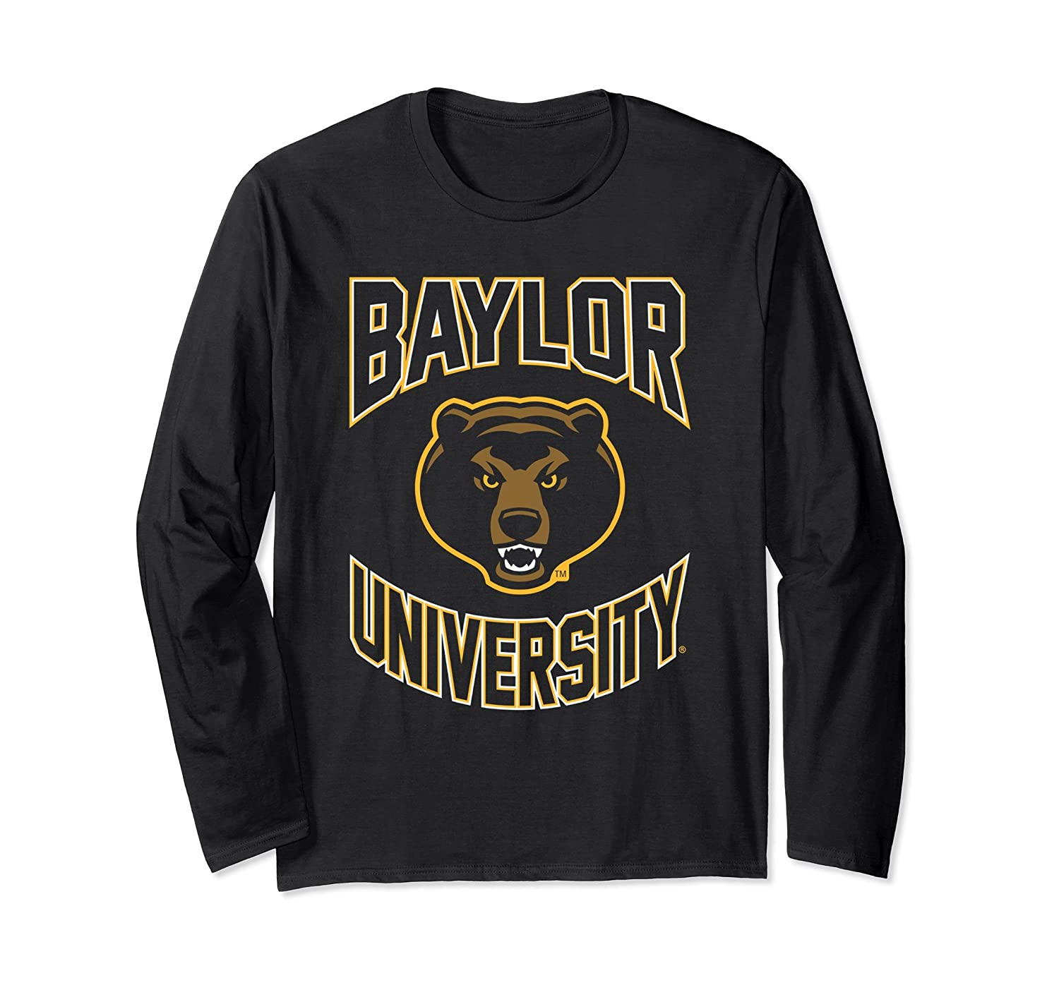 Baylor University Bears NCAA Long Sleeve bylr1003-TH