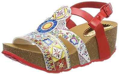 Desigual Damen Shoes_odisea Microrapport Slingback Sandalen
