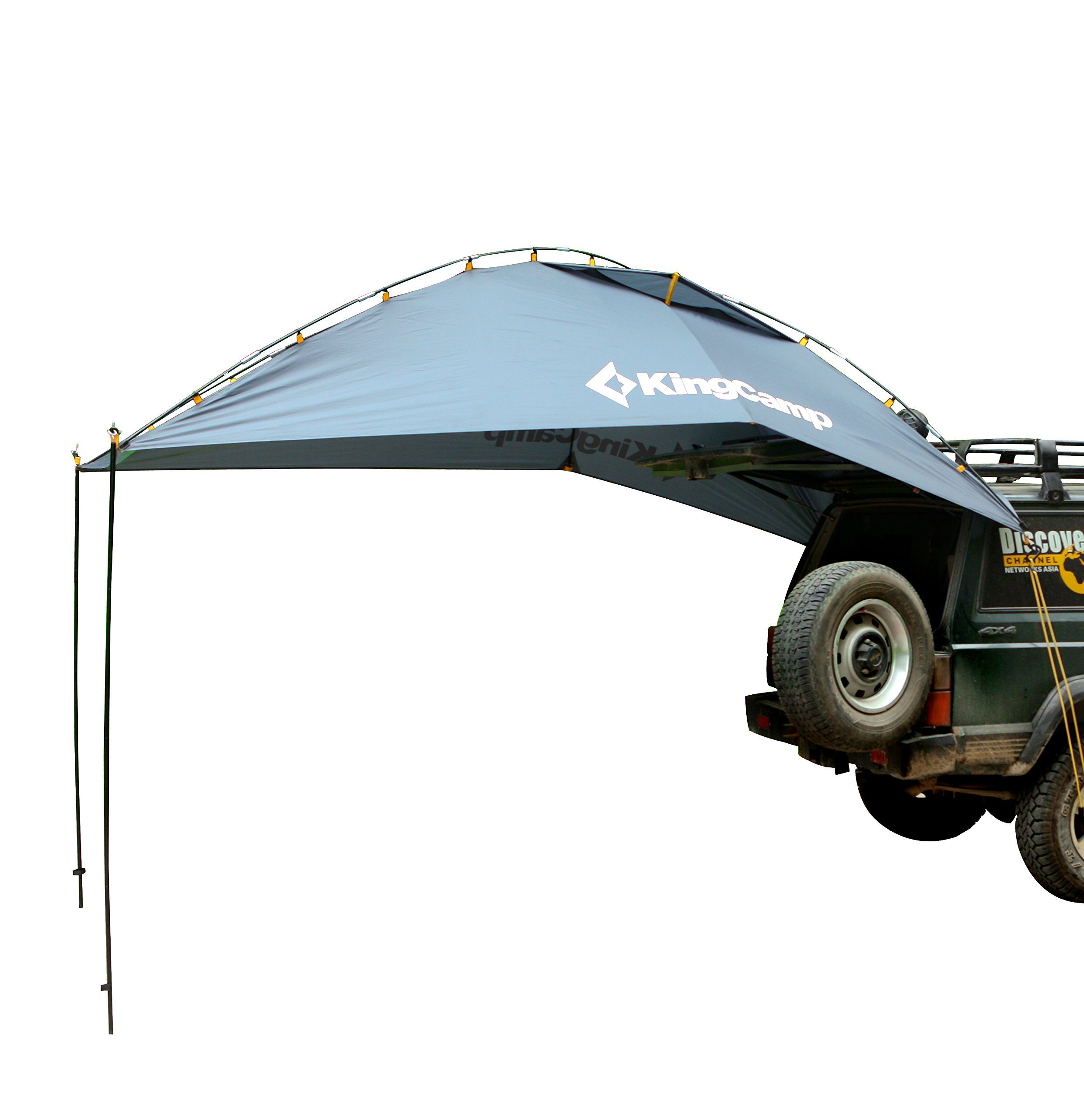 KingCamp Awning Sun Shelter Auto Canopy Camper Trailer Tent Roof Top for Beach, SUV, MPV, Hatchback, Minivan, Sedan, Camping, Outdoor, Anti-UV Tents, Waterproof, Portable by KingCamp