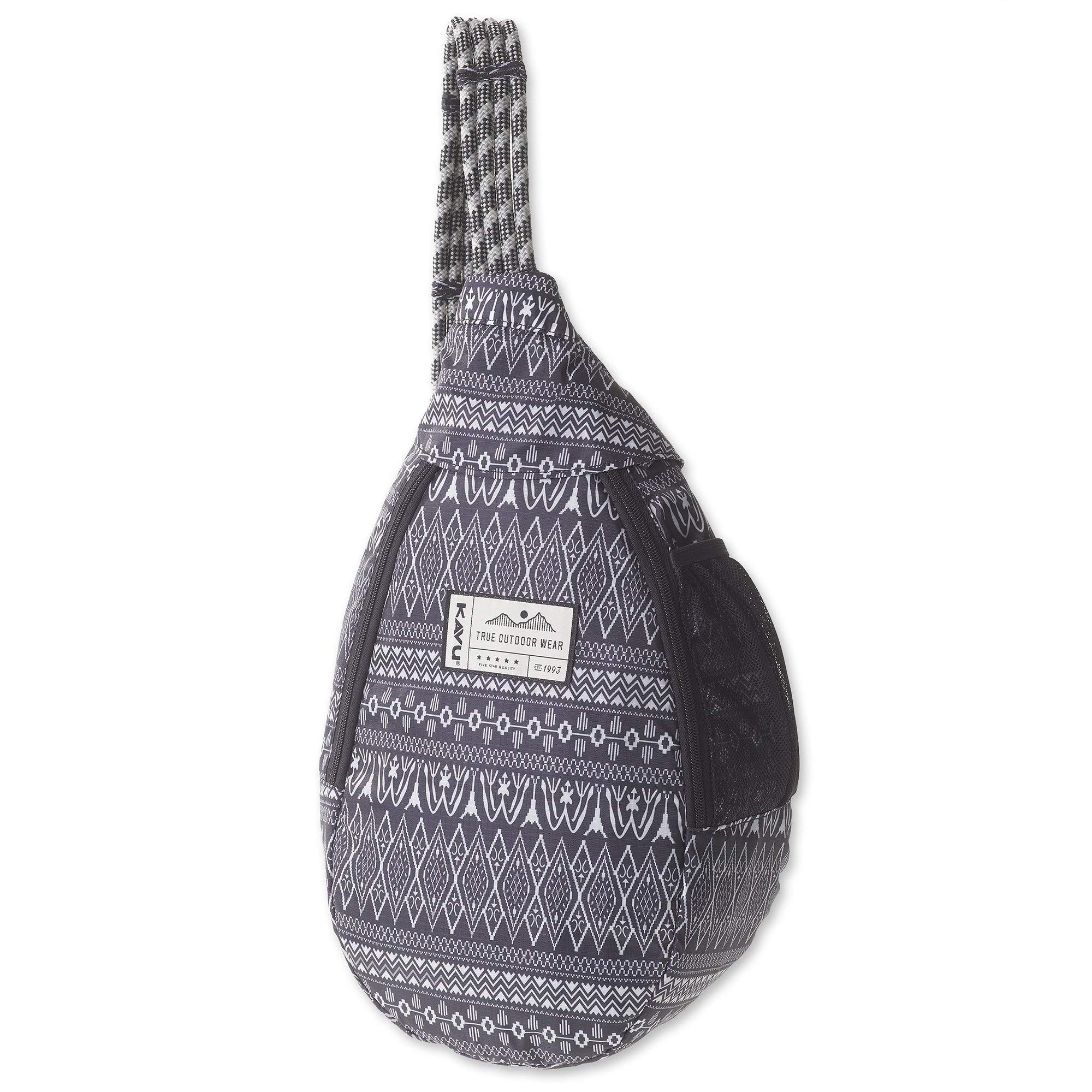 KAVU Ropesicle Insulated Cooler Bag For Travel, Picnic, Beach, Camping, and Lunch - Knitty Gritty