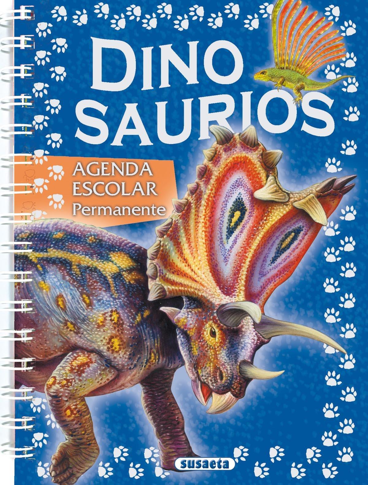 Agenda escolar permanente dinosaurios: 9788430525485: Amazon ...