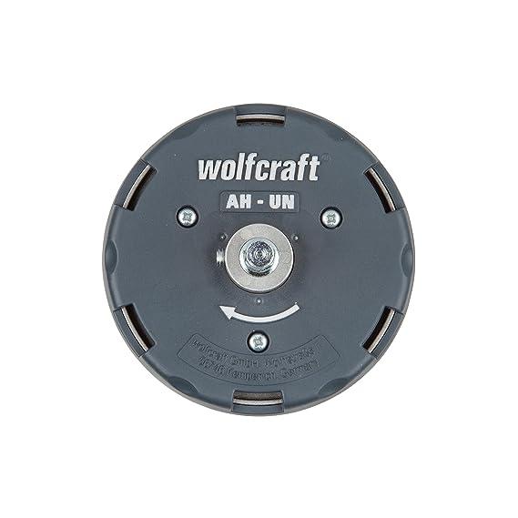 Wolfcraft 5985000 Sierra de corona ajustable para uso universal 0 W, 1 V: Amazon.es: Bricolaje y herramientas