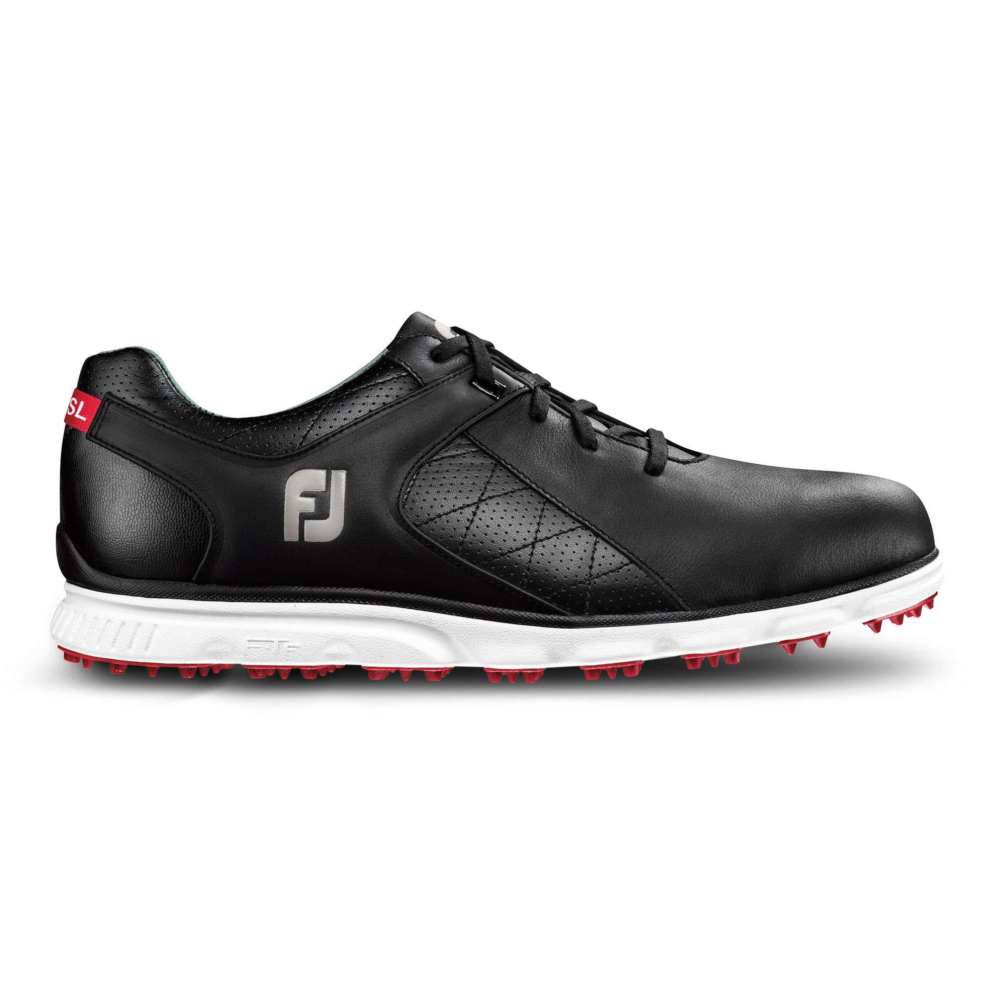 FootJoy Men's Pro/SL-Previous Season Style Golf Shoes Black 8 M US