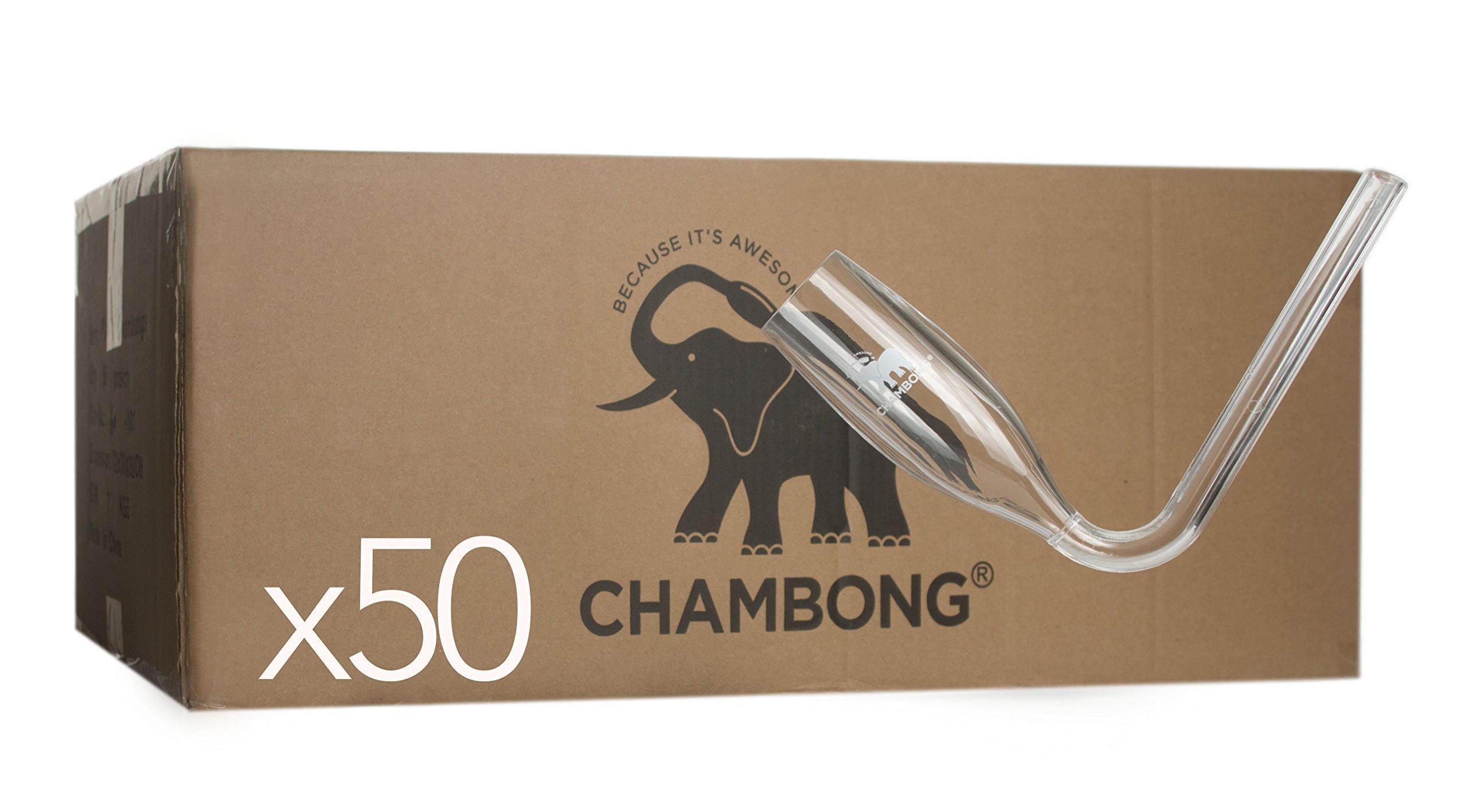 Chambong (Plastic) Bulk 50 pieces - Acrylic Chambongs: Case of 50