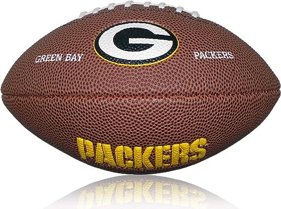 Wilson Football NFL Greenbay Packers Logo Mini - Balón de fútbol ...