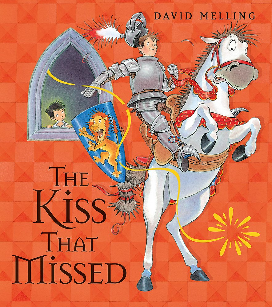The Kiss That Missed Board Book: Amazon.co.uk: Melling, David: Books