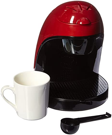 Amazoncom Brentwood Appliances Ts 112r Single Cup Red Coffee Maker