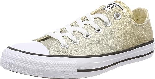 converse chucks light ox damen sneaker (weiss)
