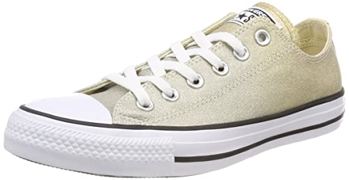 ccb7c9567fb0c7 Converse Chuck Taylor All Star Ombre Metallic Ox Light Gold Synthetic 3.5  D(M)
