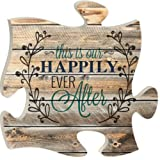 Amazon Price History for:P. Graham Dunn Puzzle Piece Print Frame Panel Art This Is Our Happily Ever After