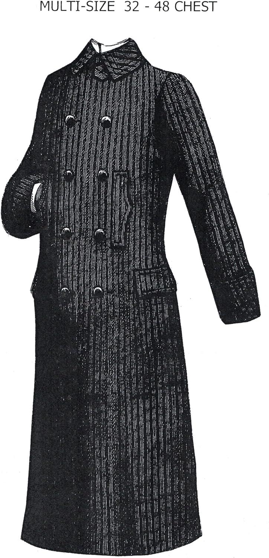 Amazon.com: 1888 de los hombres del Ulster abrigo Pattern ...