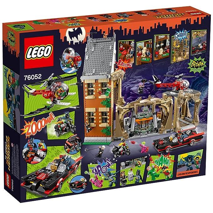 LEGO DC Comics Super Heroes Batcueva de Batman clásico de TV - Juegos de construcción, 14 año(s), 2526 Pieza(s), Cómics, Niño/niña, 9 Pieza(s)