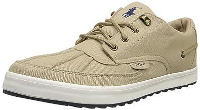 Polo Ralph Lauren Men's Ramiro Fashion Sneaker, Khaki, ...