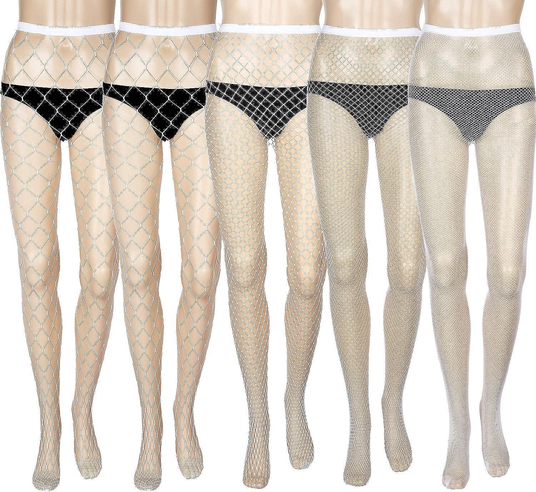 Partito donna può può autoreggenti setificate taglia unica colore argento