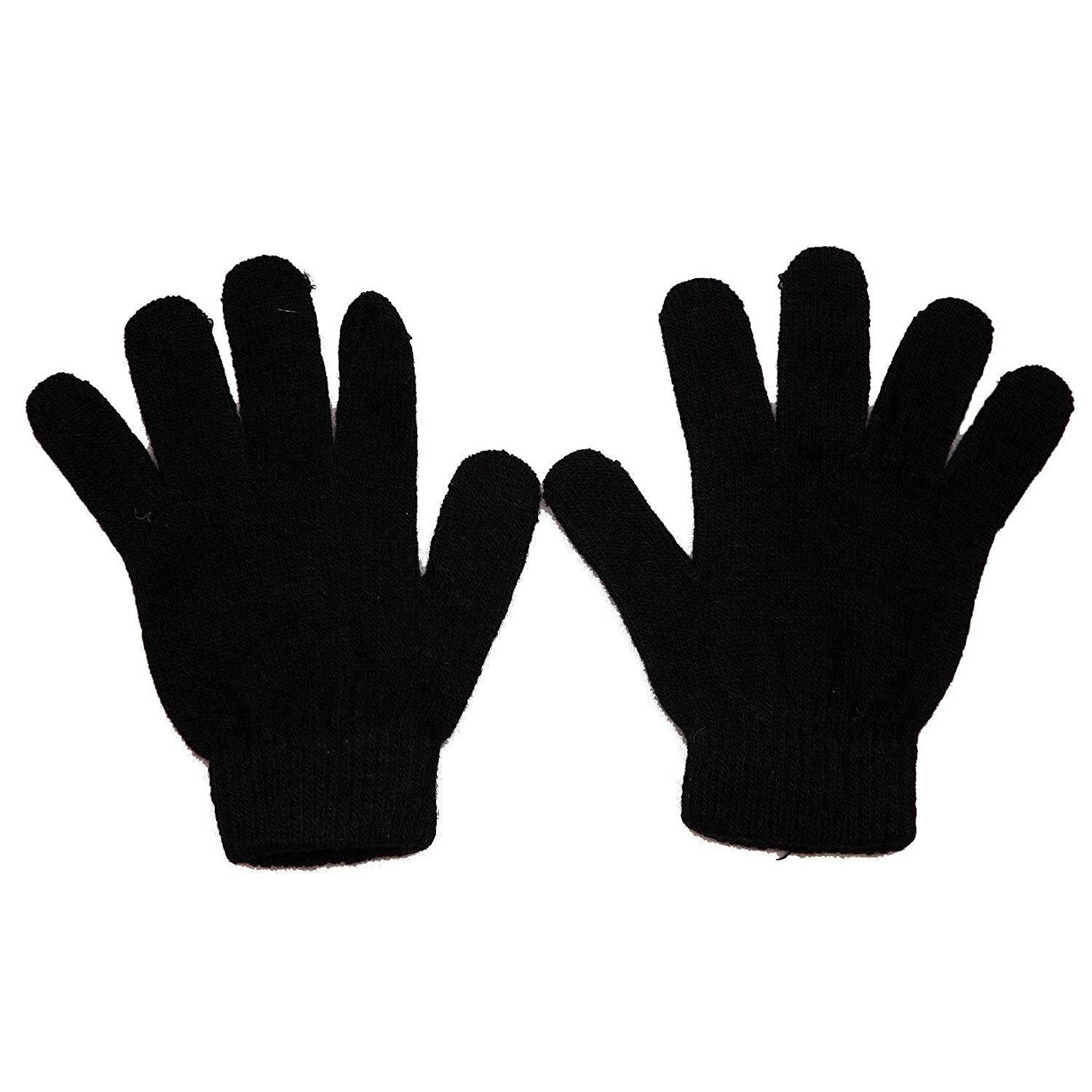 Children's Thermal Magic Gloves art no 7372 Black)