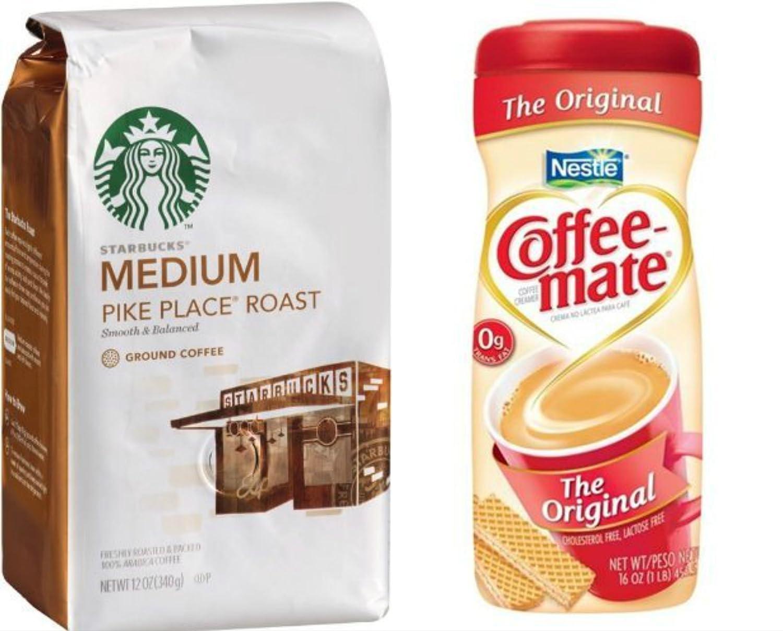 Starbucks coffee creamer