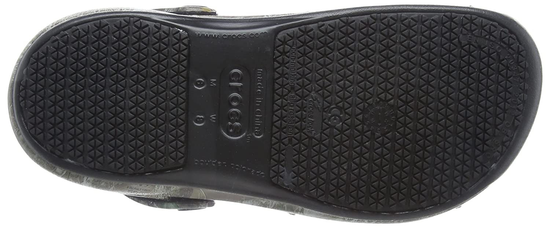 Crocs Unisex-Erwachsene Bistro Clogs Realtree Edge Clogs Bistro Braun (Khaki/schwarz) e49102