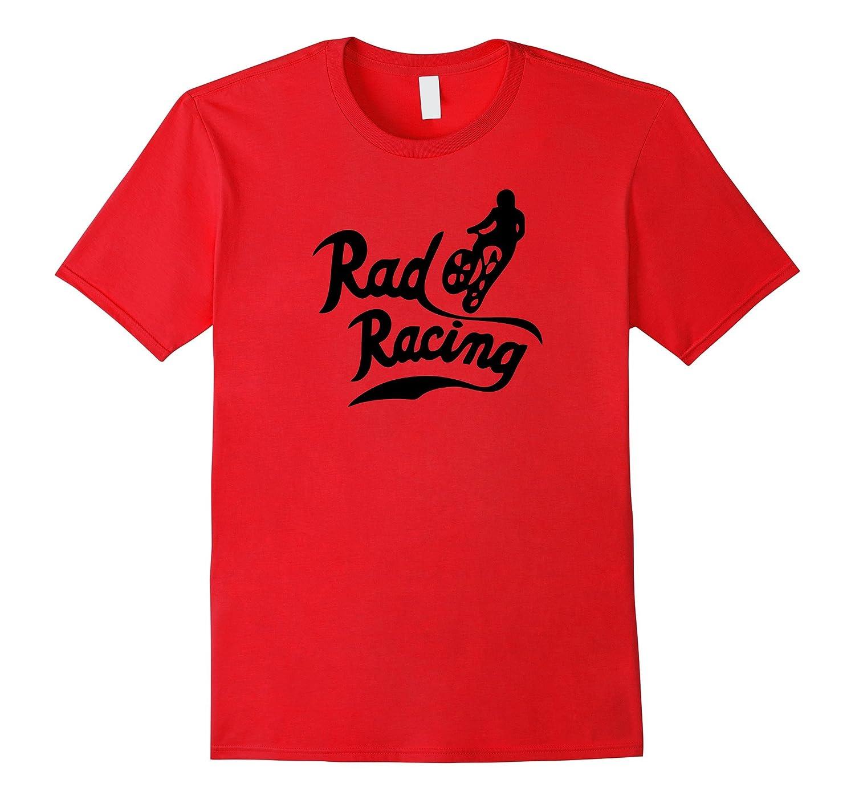 Rad Racing T-Shirt for BMX Freestyle Bikers Racers-Art