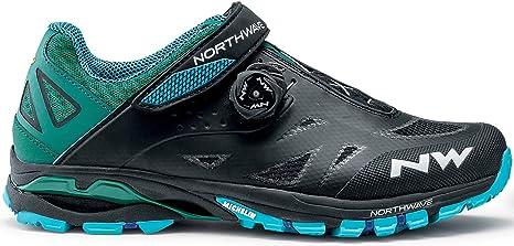 Northwave Spider 2 Plus Zapatos de Bicicleta de montaña 2020 Negro ...
