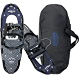 NEW YANES TWIN PEAKS PERFORMANCE 34 SNOWSHOE KIT 250 LBS CAPACITY Snowshoes,Telescopic Walking Sticks Carry bag and 3yr Warranty