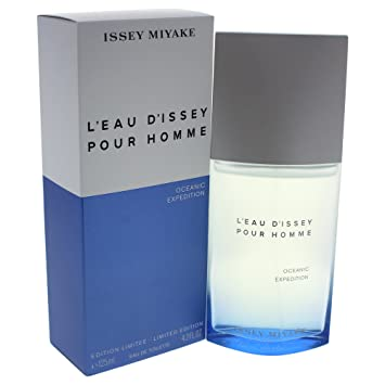 ed2a9ea6e9 Image Unavailable. Image not available for. Color: Issey Miyake L'eau  D'issey Pour Homme Oceanic Expedition for Men, 4.2