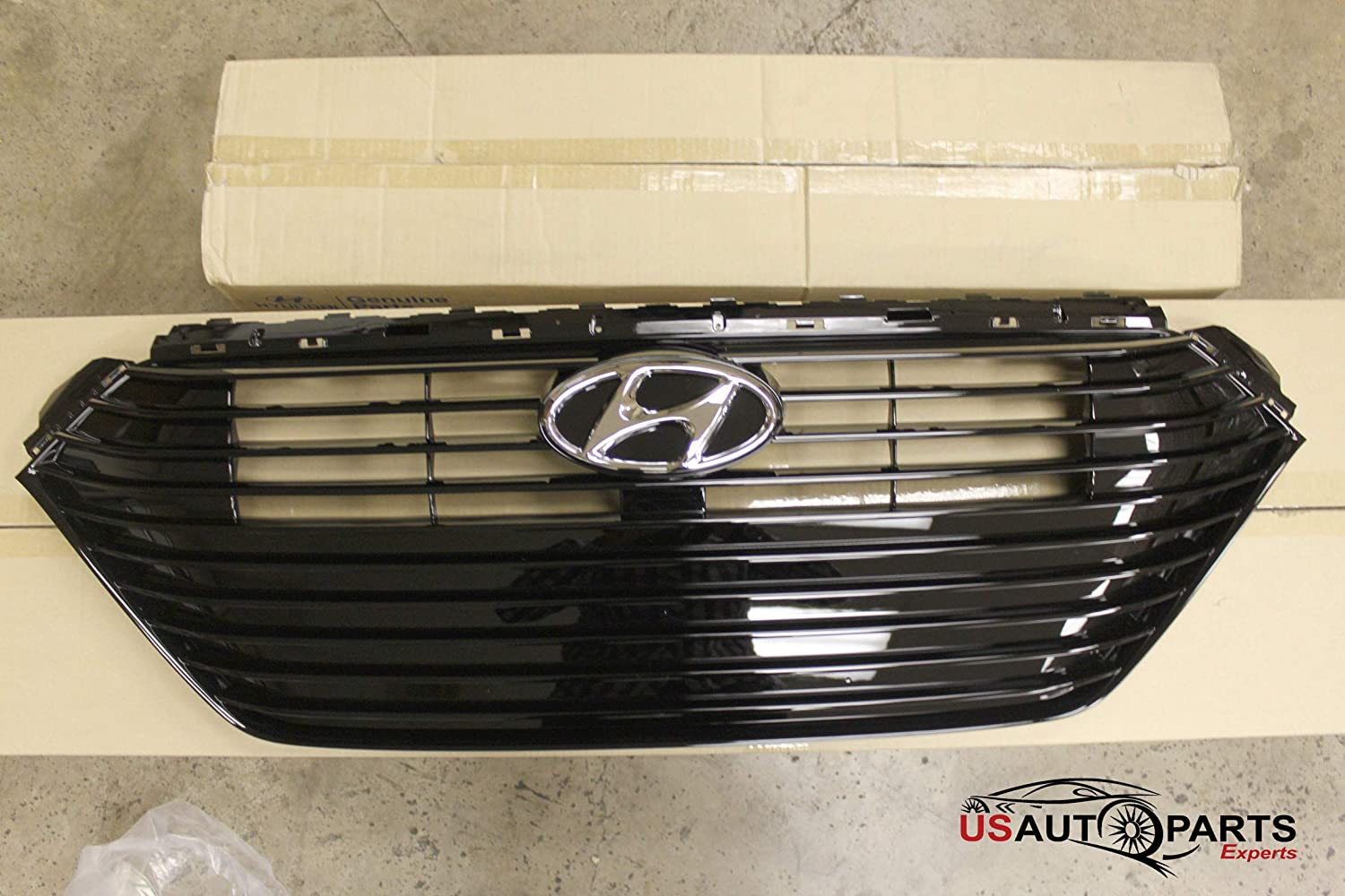 New Front Bumper Grille Grill Center 86350J0020 For Hyundai Accent 2018 2019