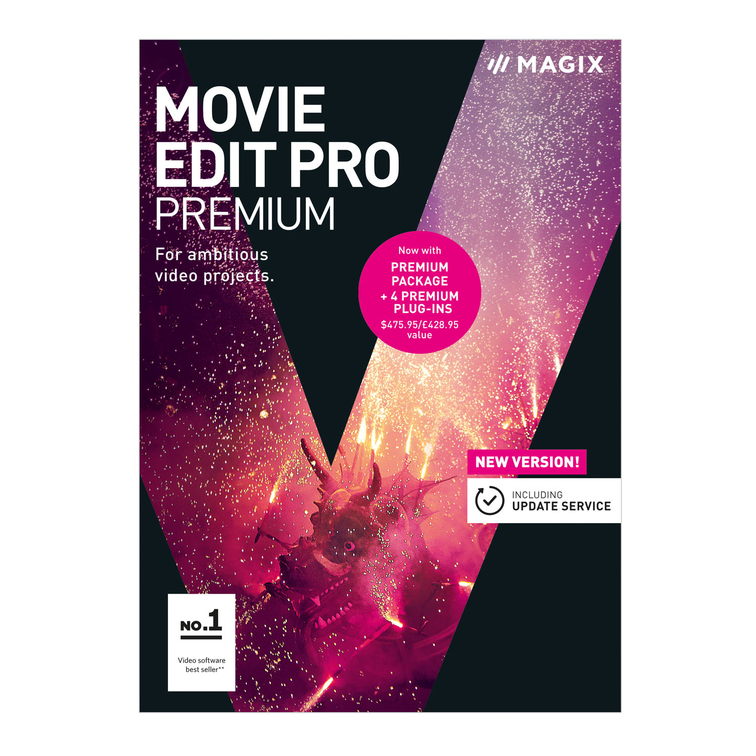 Movie Edit Pro – 2018 Premium – Professional video editing for Windows ()
