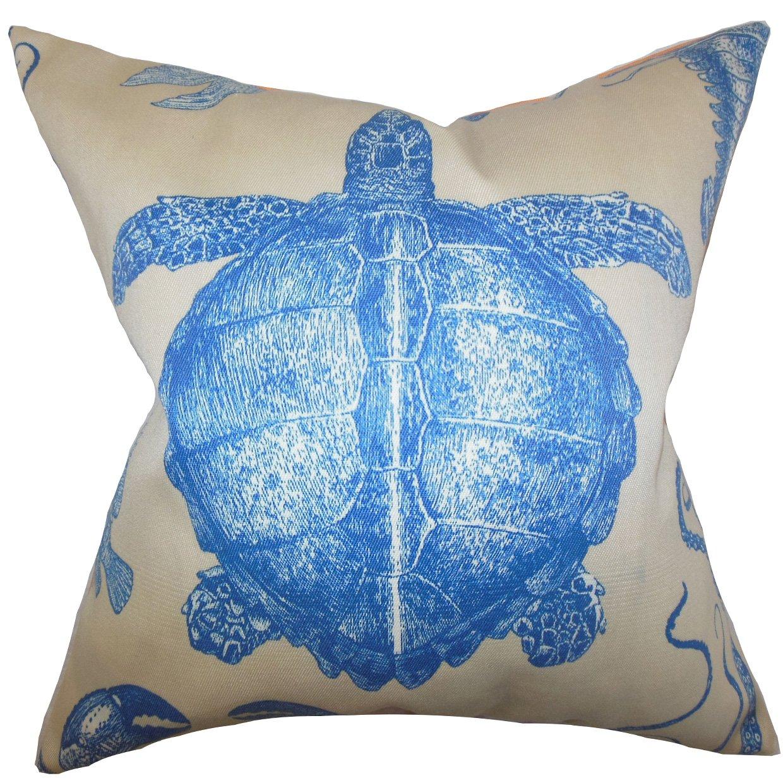 The枕コレクションp20-adriatic-naturalblue-a100 Aeliena Coastal枕、ブルー、20