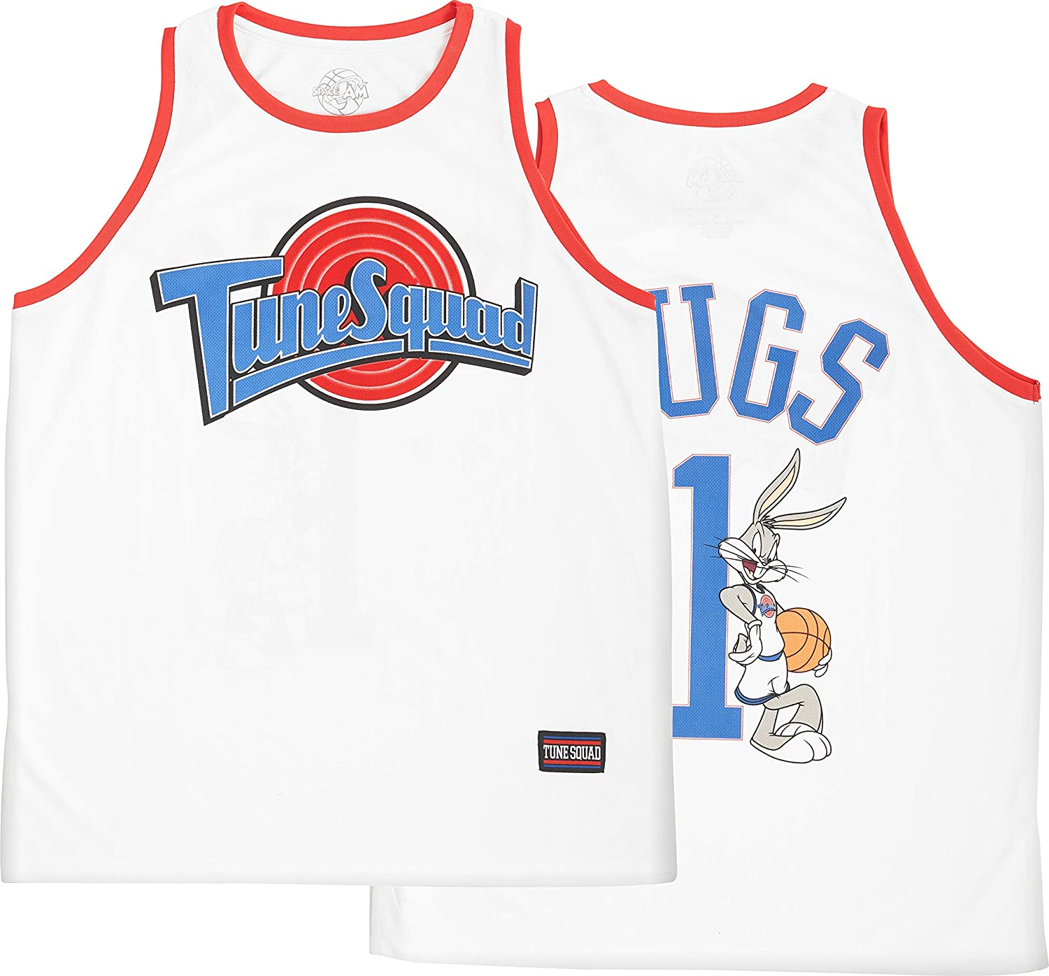 Tune Squad Bugs Bunny space jam Mens Basketball Jersey Monstars Jerseys