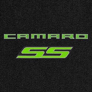 Lloyd Mats ULTIMAT 2 Piece FRONT FLOOR MAT SET Ebony 2010-2015 CAMARO RS LOGO
