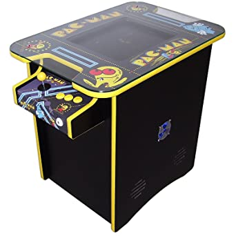 Pacman Table Game >> Two Player Table Arcade Machine Pacman Theme Amazon Co Uk Pc