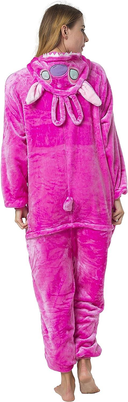 Katara (10+ Modelos) Kigurumi Pijamas Disfraz Animal Halloween Adultos Stitch - Angel Talla 175-185cm