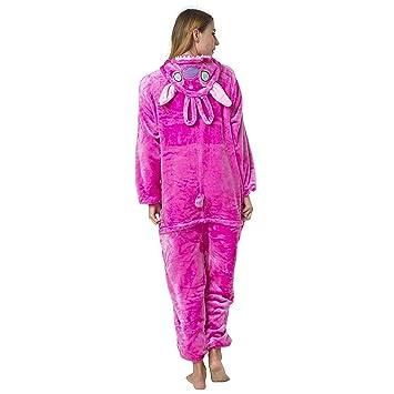 Katara - Disfraz Pijama Una Pieza Adultos Color Stitch - Angel, Talla 145-155cm (S): Amazon.es: Juguetes y juegos