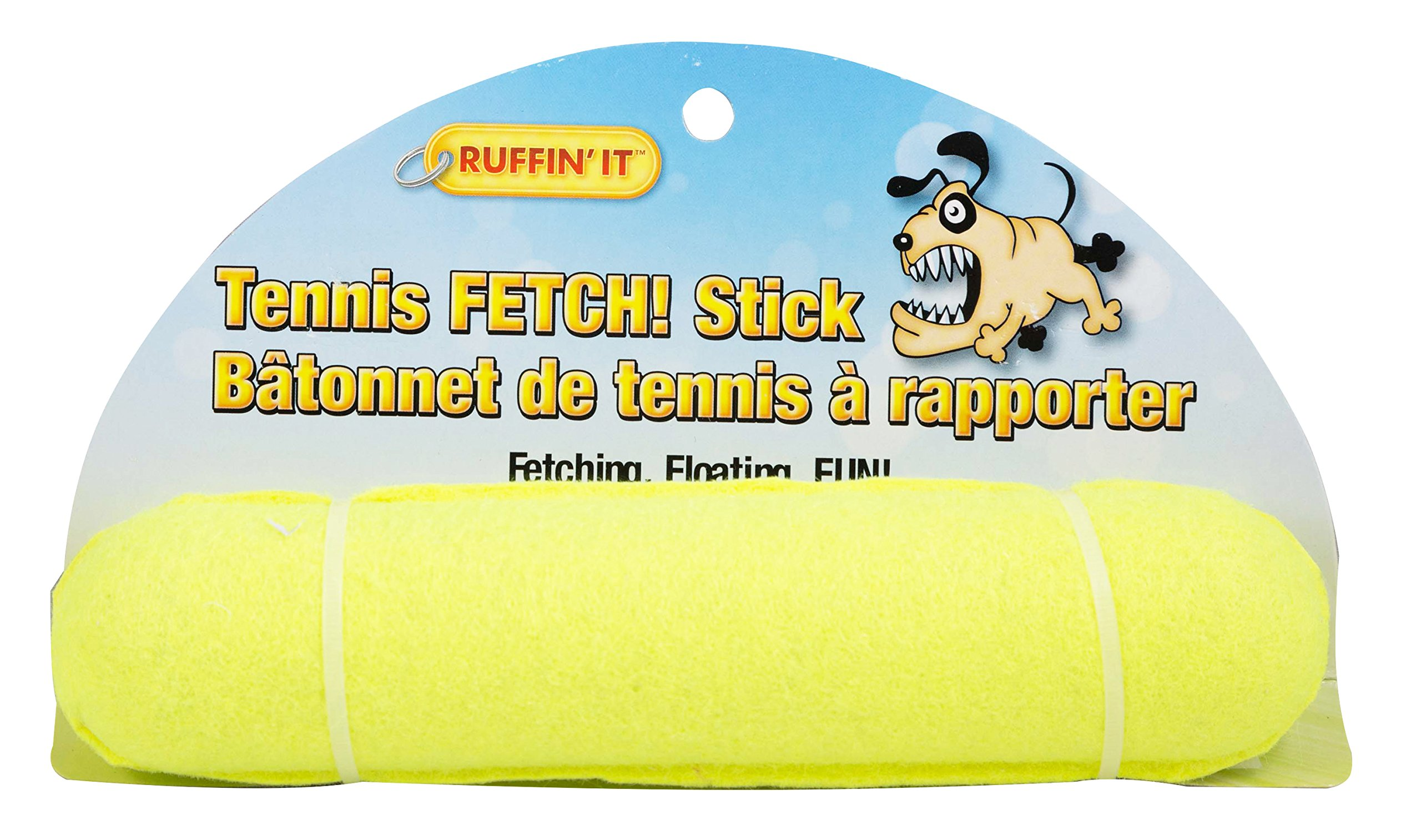 Ruffin' It Tennis Fetch Stick Dog Toy, 72-Pack